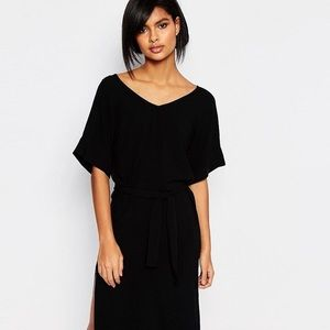 NWT Vero Moda Tie Waist Side Split Dress
